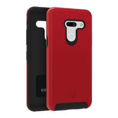 LG G8 ThinQ - Cirrus 2 Case Crimson