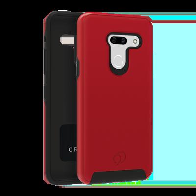 LG G8 ThinQ - Cirrus 2 Case Crimson