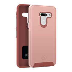 LG G8 ThinQ - Cirrus 2 Case Rose Gold