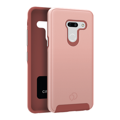 LG G8 ThinQ - Cirrus 2 Case Rose Gold