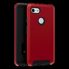 Google Pixel 3 XL - Cirrus 2 Case Crimson