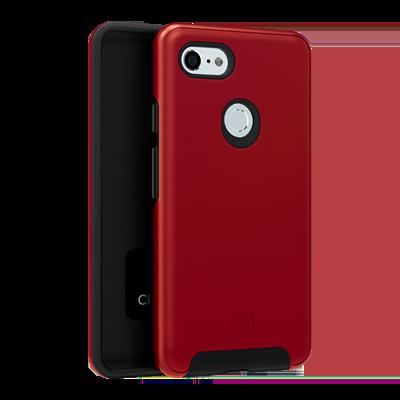 Google Pixel 3 - Cirrus 2 Case Crimson