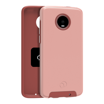 Moto Z4 - Cirrus 2 Case Rose Gold