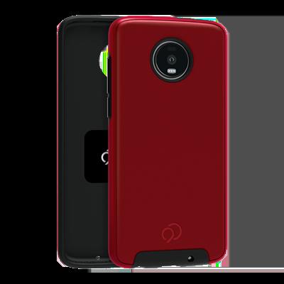 Moto Z4 - Cirrus 2 Case Crimson