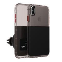 iPhone Xs Max - Ghost 2 Case Black
