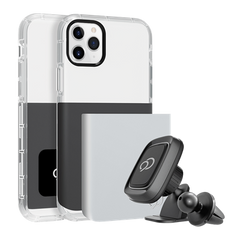 iPhone 11 Pro / Xs / X - Ghost 2 Pro Case Gunmetal Gray / Pure White