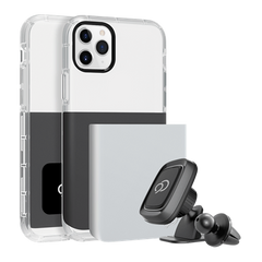 iPhone 11 Pro Max / Xs Max - Ghost 2 Pro Case Gunmetal Gray / Pure White