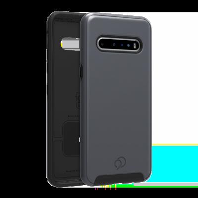 LG V60 ThinQ - Cirrus 2 Case Gunmetal Gray