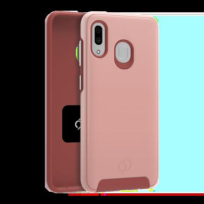Galaxy A20 / A30 - Cirrus 2 Case Rose Clear