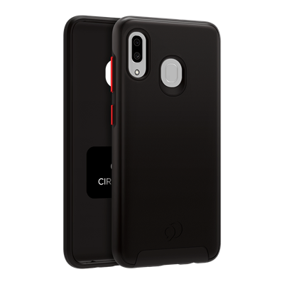 Galaxy A20 / A30 - Cirrus 2 Case Black