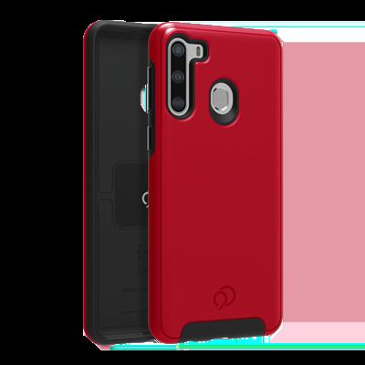 Galaxy A21 - Cirrus 2 Case Crimson