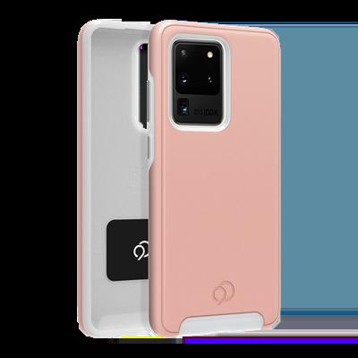 Galaxy S20 Ultra 5G - Cirrus 2 Case Rose Clear