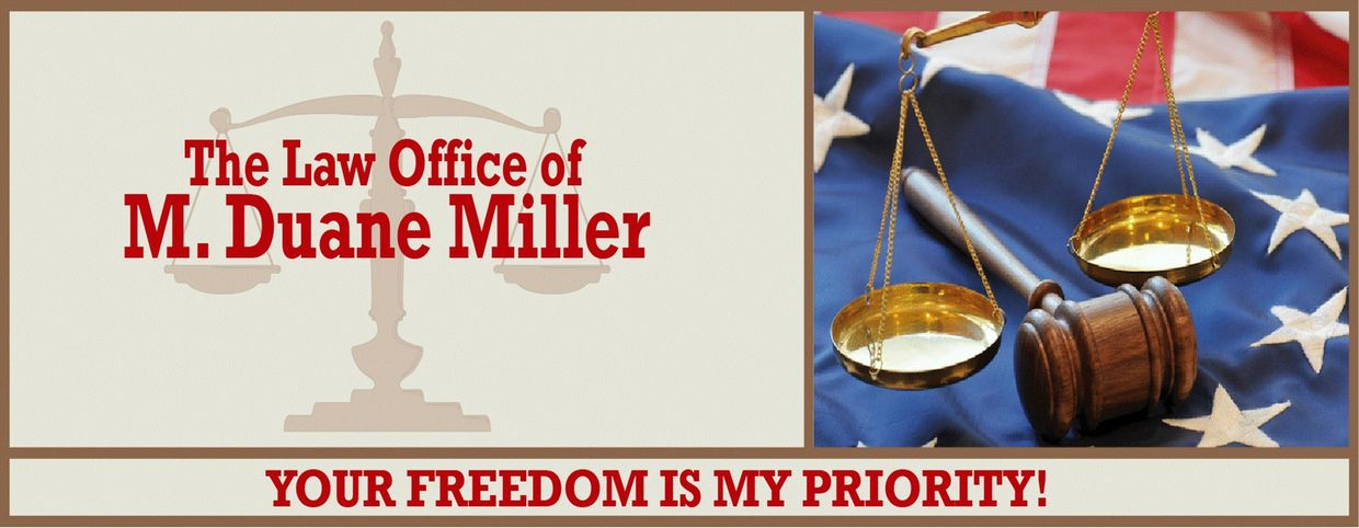 bell county theft & hot check defense attorney M. Duane Miller