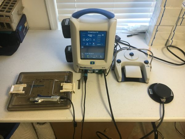 Medtronic IPC With Endo Scrub And Microdebrider