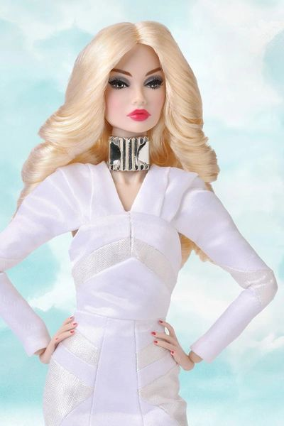 88017 THE INDUSTRY STYLE LAB BLOND POPPY PARKER NUDE DOLL ONLY