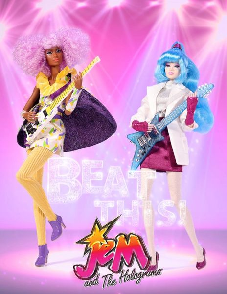 14107 BEAT THIS AJA LEITH AND SHANA ELMSFORD TWO-DOLL GIFT SET