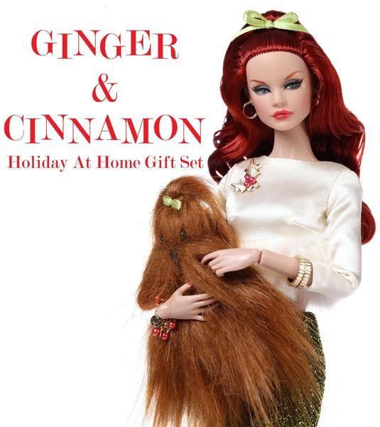 77194 GINGER & CINNAMON HOLIDAY AT HOME
