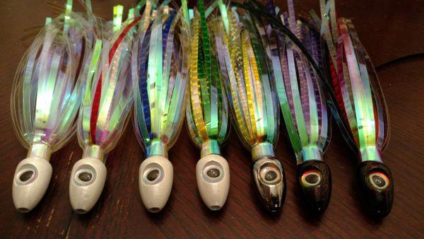 Mylar Flash Dart Fishing Lure