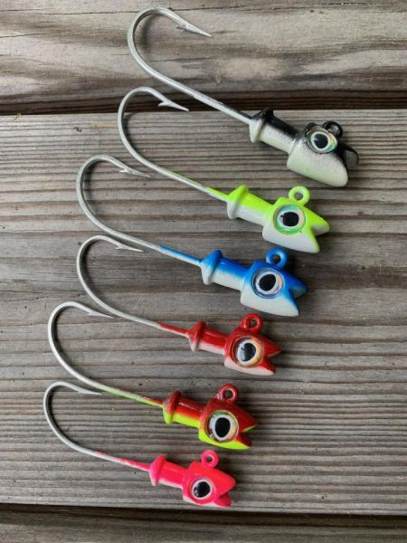 Smiling Jig Head Assortment