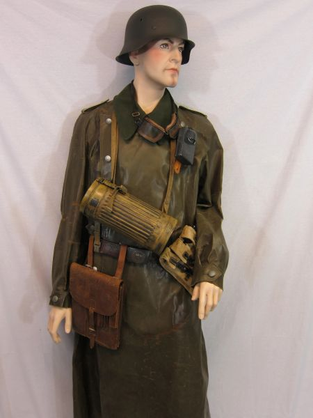 WWII German Afrikakorps Dispatch Motorcyclist Grouping -ORIGINAL RARE-