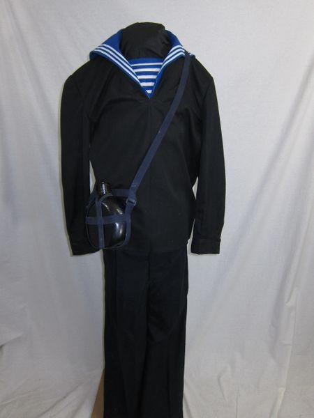 Korean War - North Korean Navy Sailor's Uniform Group - ORIGINAL RARE -