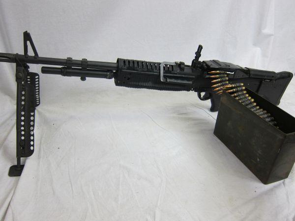 Vietnam War U.S. M60 Machine gun, Chambered in NATO 7.62mm, Demilled, Non-Firing - ORIGINAL VERY RARE -