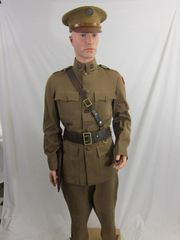 WWI - U.S. 3rd Aero Park Service, Enlisted Mans Grouping - ORIGINAL -