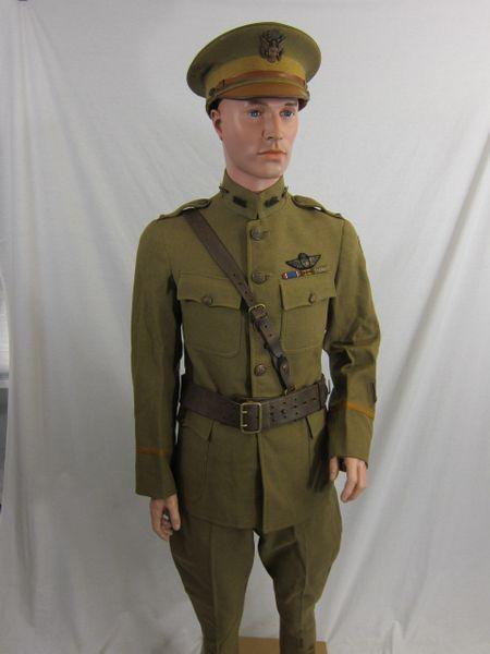 WWI - U.S. 3rd Army Pilots Uniform Grouping - ORIGINAL RARE -