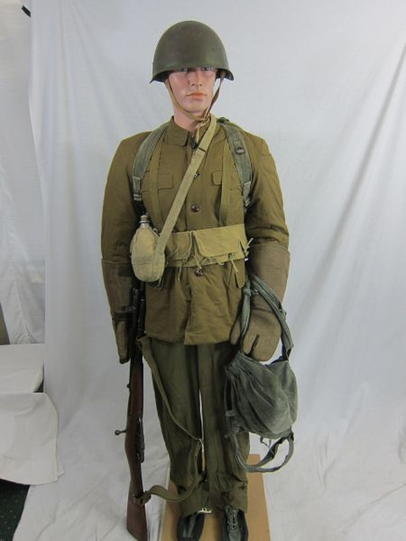 Korean War - North Korean Army Quilted Winter Combat Uniform Grouple, - ORIGINAL VERY RARE -