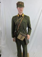 Korean War - North Korean Army Officer's Uniform Group - ORIGINAL RARE -