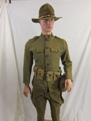WWI - U.S. 3rd Army QM, Corporal's ID'd Grouping - ORIGINAL -