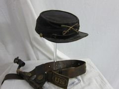 American Indian War - U.S. Army, Model 1872 Kepi. Cavalry - ORIGINAL -
