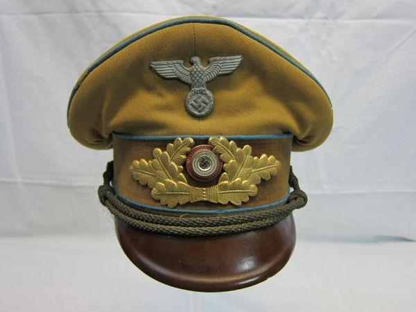 WWII German Ortsgruppenleiter Political Leader's Visor Cap - ORIGINAL -