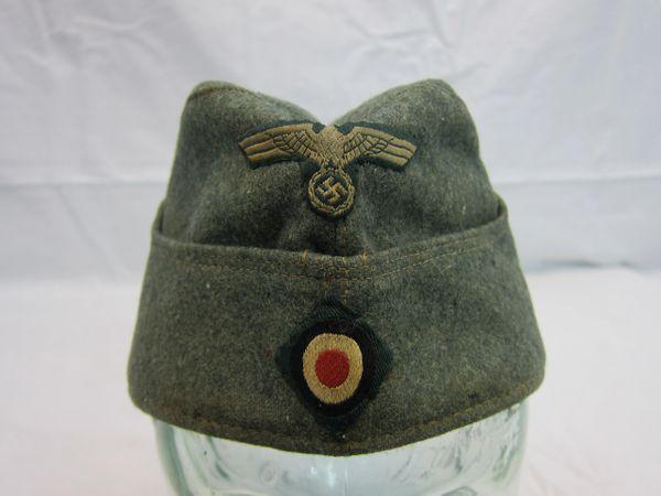 WWII German Garrison M34 Army Standard Cap, Enlisted Men and NCOs - ORIGINAL -