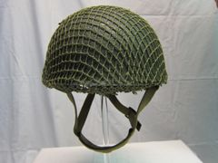 WWII British Paratrooper Helmet MKII, Dated 1944 -ORIGINAL VERY RARE-