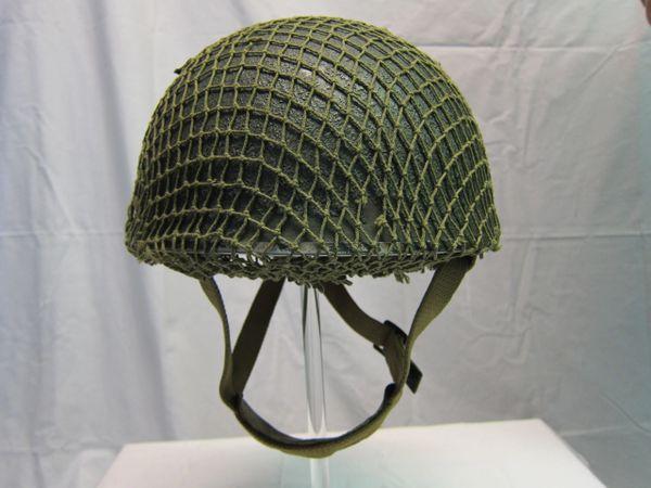 WWII British Paratrooper Helmet MKII, Dated 1944 -ORIGINAL VERY RARE-