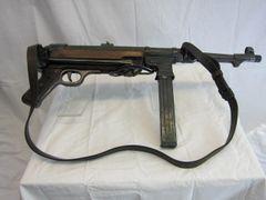 WWII German MP40 Submachine Gun Demilled Non-Firing - ORIGINAL RARE -