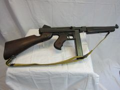 WWII U.S. Thompson Submachine Gun - Demilled Non-Firing - ORIGINAL RARE -