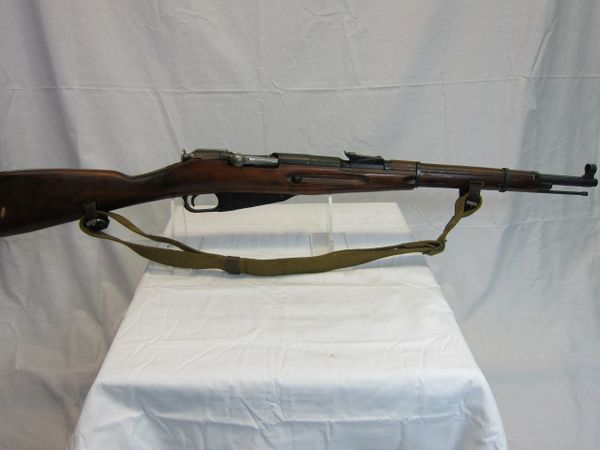 WWII Russian Soviet Model 38 Mosin-Nagant Carbine, Demilled Non-Firing - ORIGINAL SOLD-