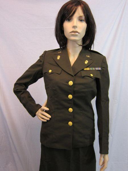 WWII US WAAC Female Officer 1st Lieutenant Dress Uniform - ORIGINAL -SOLD