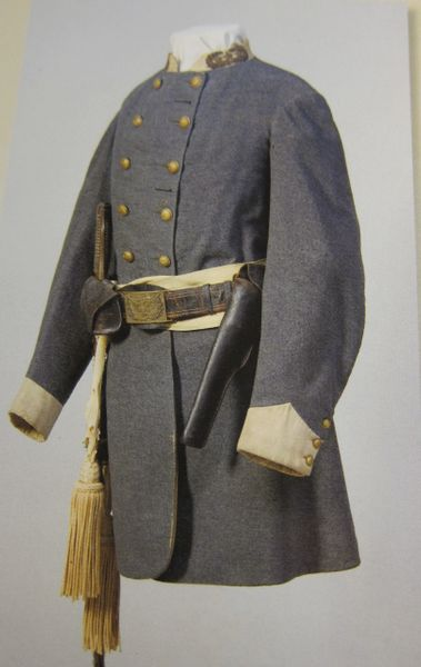 Civil War - Confederate General Walter Husted Stevens Uniform, General Lee's Chief Engineer, - ORIGINAL VERY RARE - SOLD
