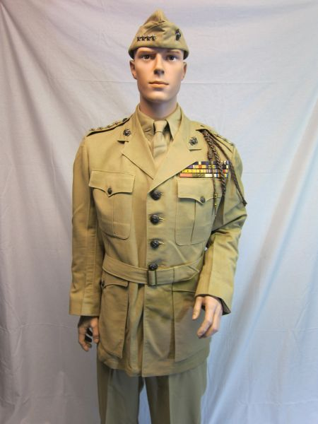 WWII Uniform of General Thomas Holcomb, Commander of the Marine Corps -ORIGINAL VERY RARE -SOLD