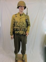 WWII D-Day Invasion US Army Field Uniform - ORIGINAL -