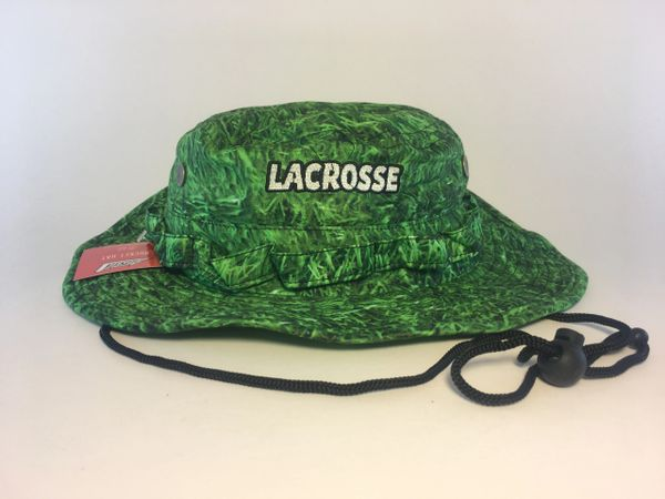 Green Grass Lacrosse Bucket Hat