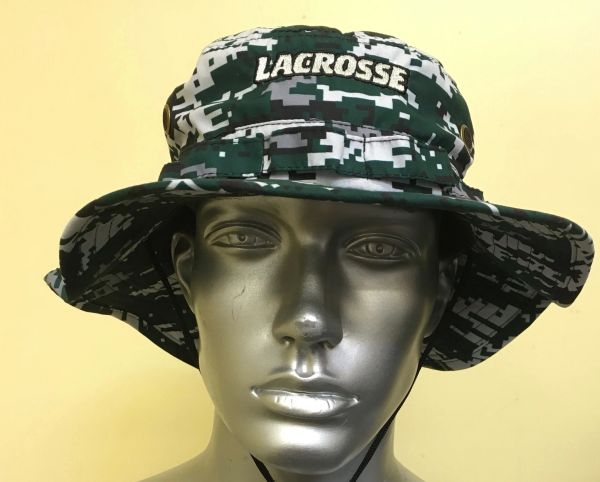 Dark Hunter Green Lacrosse Digital Camo Bucket Hat