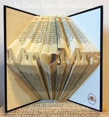 """READY TO POST Mini """"Mr♥Mrs"""" : : Wedding present, Top Table décor, family gift ♥ ♥"""