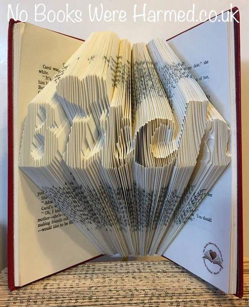 """""""Bitch"""" folded in beautiful, cursive, script : : Crude Books"""
