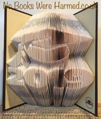 READY TO POST 2019 Graduation Cap Mortar Board Hand folded book art