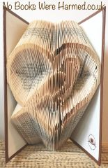 Parakeet in heart : : Hand folded, never cut, book art
