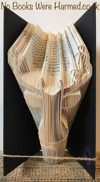 READY TO POST Steve The Stag. Yes. Steve : : Scottish countryside, wildlife : : Hand Folded Book Art